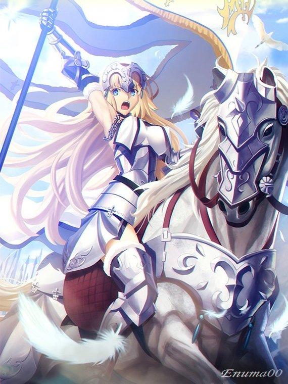 Holy virgin & Dragon Witch Fate, Fate Grand Order, Ruler, Мстители, Anime art, Nasuverse, Длиннопост