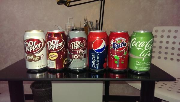 В догонку к посту о редкой газировке Dr Pepper, Coca-Cola, Pepsi, Фанта, Находка