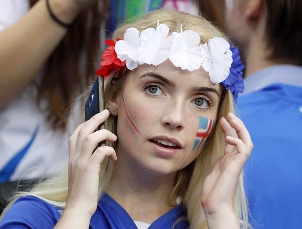 Исландская красота Исландия, Девушки, Болельщицы, Евро, Длиннопост, Красивая девушка