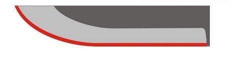 Профиль ножевого клинка Клинок, Профиль ножевого клинка, длиннопост
