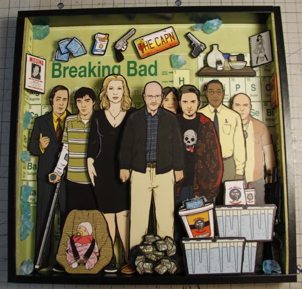 Диорама Breaking Bad Breaking bad, Своими руками, Сериалы, Фан-Арт, Диорама, Haizenberg, Уолтер Уайт, Длиннопост