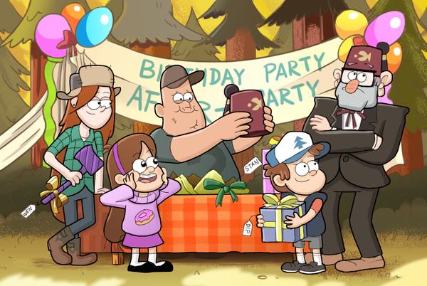 Сегодня день рождения Зуса Рамиреза. Поздравляем! Gravity Falls, День рождения, Зус