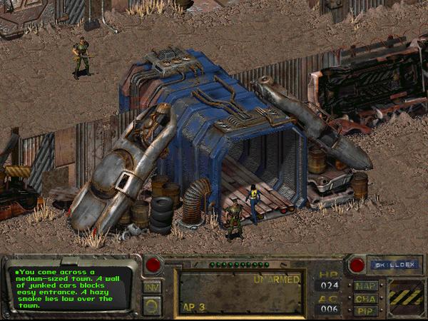 Новый проект по переносу Fallout 1 на движок Fallout: New Vegas Игры, Компьютерные игры, Fallout, Fallout: New Vegas, Fallout 1, Моддинг