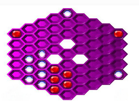 hexagon a free arcade game games at miniclipcom - 550×402