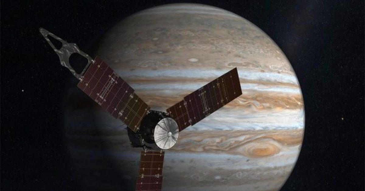 planet nasas juno spacecraft - 1000×485