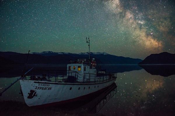 Говорят, тут любят Алтай Алтай, Телецкое озеро, Звёзды, Красота, Млечный путь