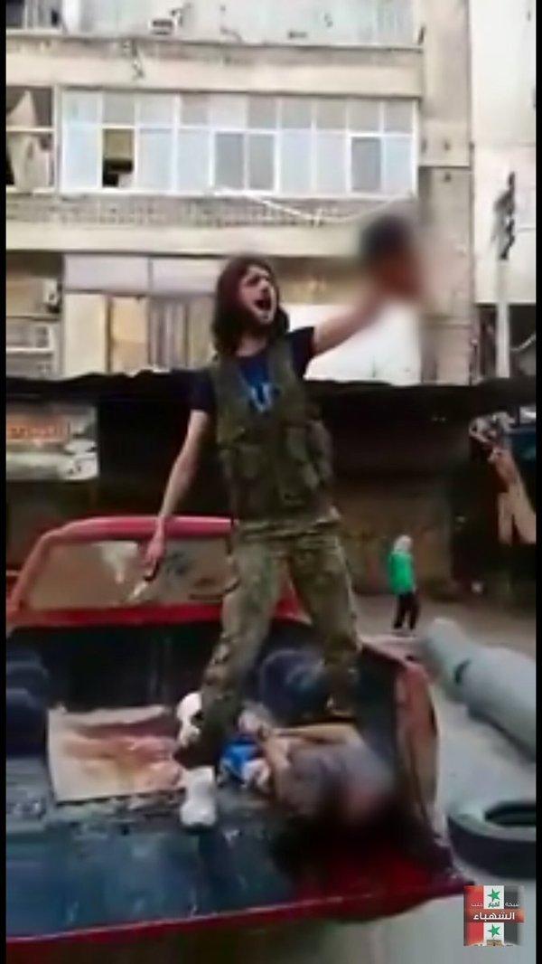 """Сирия: """"Умеренная оппозиция"""" обезглавила палестинского мальчика в Алеппо Сирия, США, Жесть, Длиннопост"""