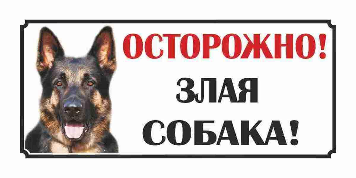 Картинка осторожно злая собака с приколом