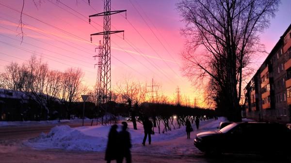 Небо над Томском Небо, Фото, томск