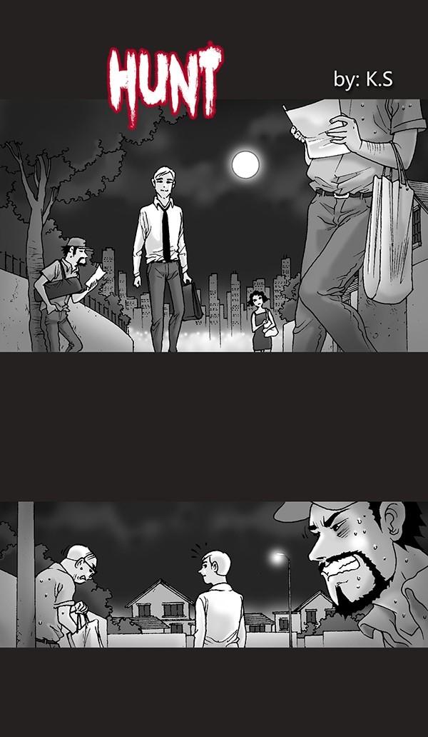 Охота Комиксы, Silent horror, жесть, длиннопост