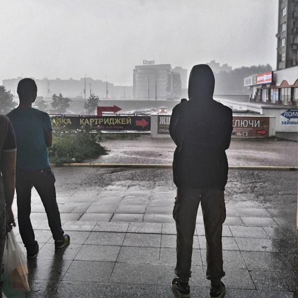 У Минска синдром Питера. Минск, Погода, Дождь