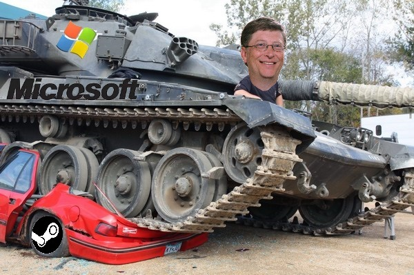 Глава Epic заверил, что Microsoft уничтожит Steam Microsoft, Valve, Steam, Epic Games