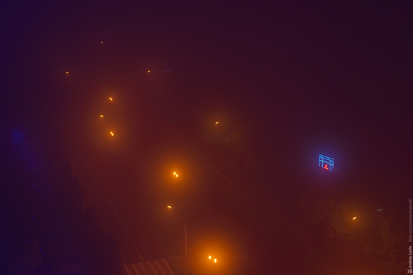 Туман, ту-у-ман туман, Фото, дымка, длиннопост