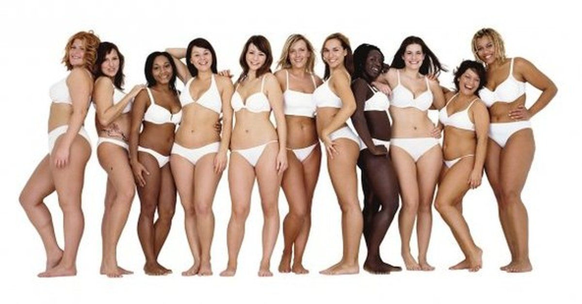 ideal to real what the perfect body really looks like - HD1600×851