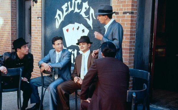 Самые известные американские фильмы про гангстеров негр и белый