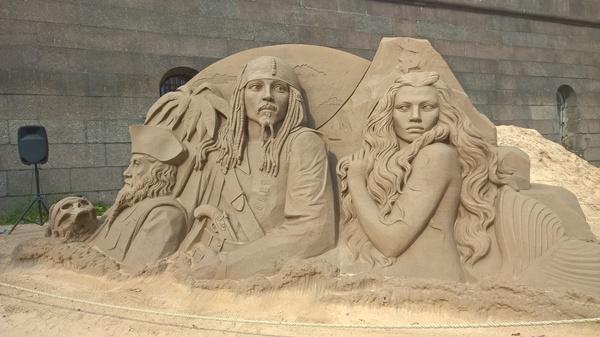 Выставка песчаных скульптур 2016 Песчаная скульптура, Санкт-Петербург, Выставка, Длиннопост