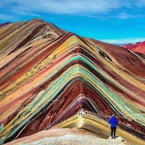 перу радужные горы фото