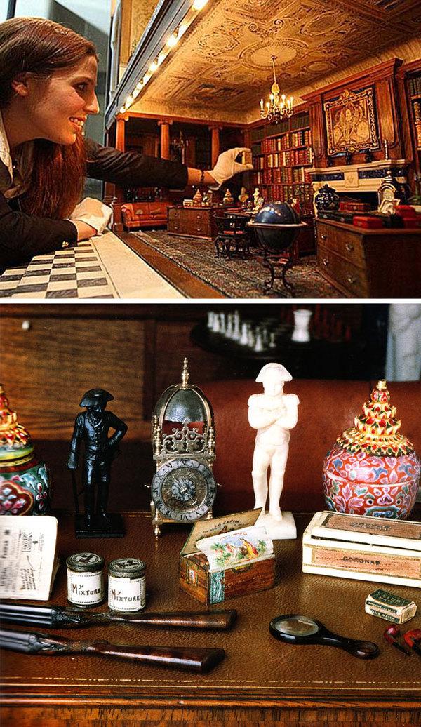 Кукольный домик королевы Марии Миниатюра, История, Дорого, Великобритания, Длиннопост