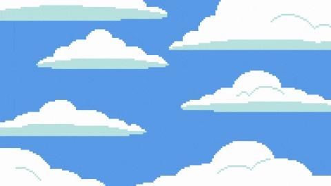 The Simpsons Pixel Art, Simpsons, Симпсоны, Мультфильмы, Заставка, Гифка, Длиннопост