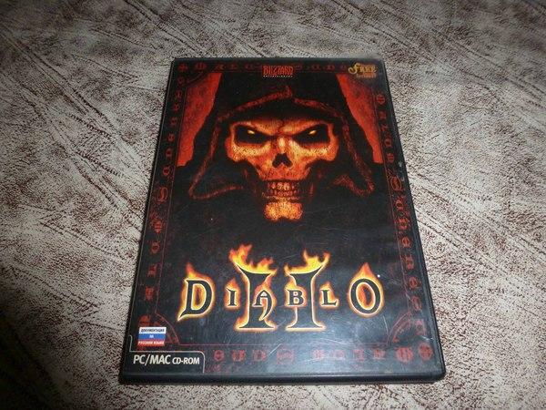 Diablo 2 с дополнительными материалами Diablo, Игры, ретро, cd-диск, длиннопост