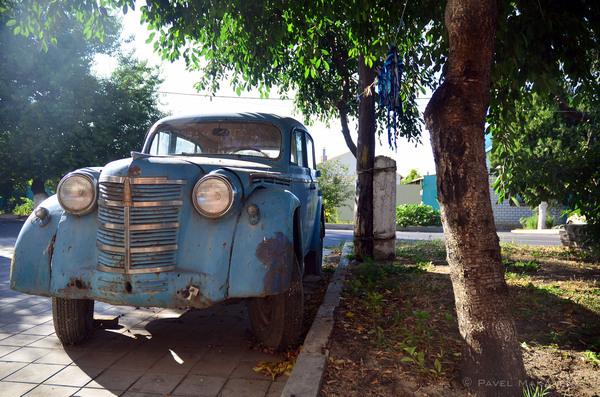 На улице в Анапе Ретроавтомобиль, Анапа