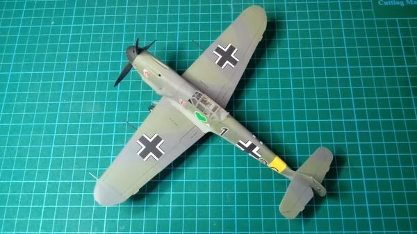 Модель самолета Мессершмитт Bf 109 F-4 стендовый моделизм, модель, самолет, мессершмитт, Сборная модель