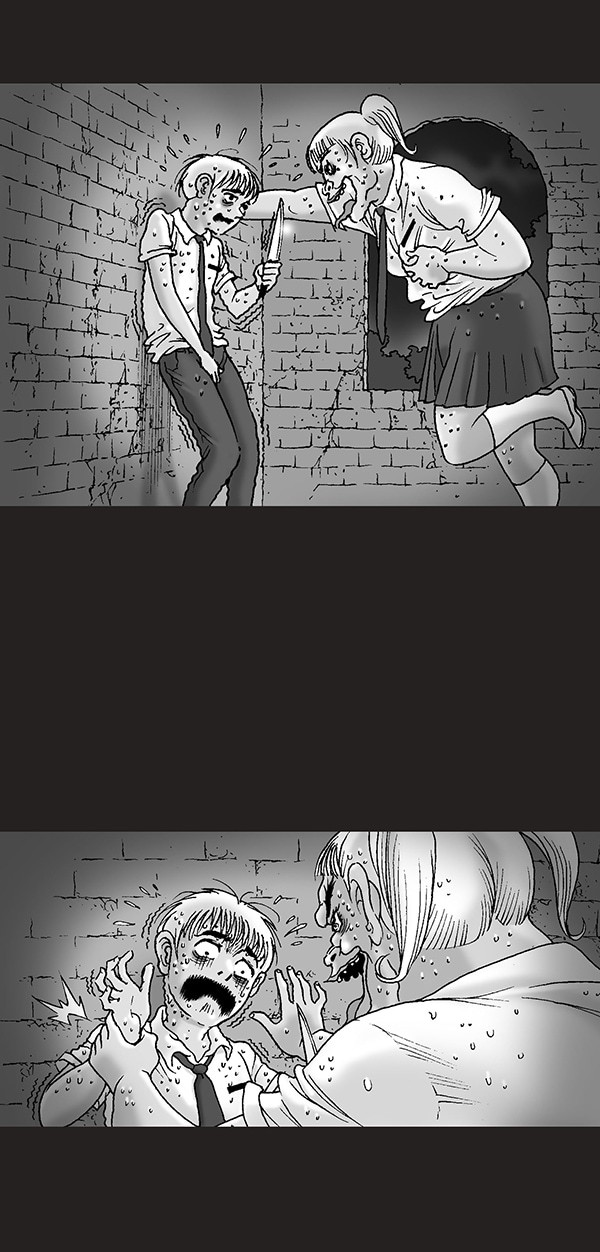 Прижать к стене Комиксы, Silent horror, DarkBox, длиннопост
