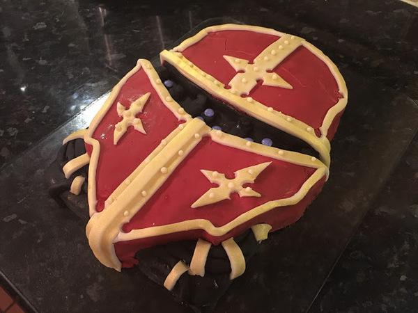 Быстрый тортик Имперский-Рыцарь Warhammer 40k, Длиннопост, Еда, Торт, Просто, Имперский Рыцарь