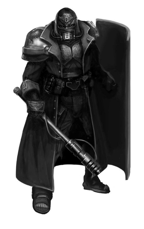 Адептус Арбитрес. Часть 2. Warhammer 40k, Warhammer, Adeptus arbitres, Длиннопост