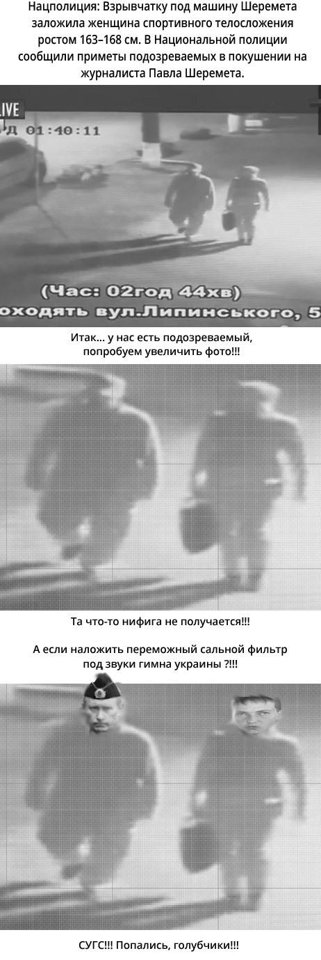 СУГС! Дело Шеремета раскрыто )) Украина, 404, Юмор, Шеремет, Политика, Путин, Савченко