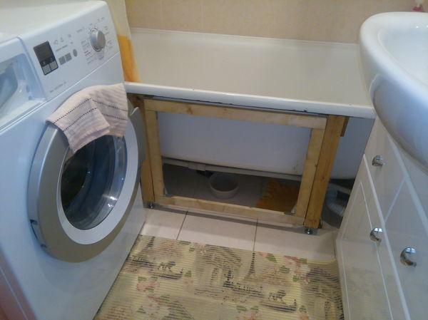 Как я экран в ванной запилил (не который кино показывает, а который низ ванны закрывает) Экран в ванной, Своими руками, Строительство, Пятничное, Длиннопост