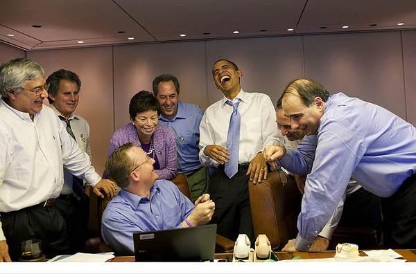 Другая (внерабочая) сторона президентства Интересное, Обама, Вне работы, Фото, Длиннопост, Путин