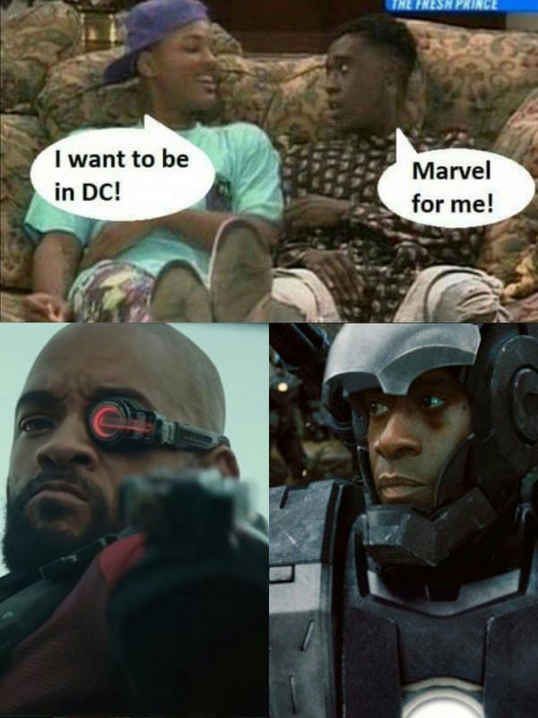 - Хочу быть в DC! - А я в Марвел!