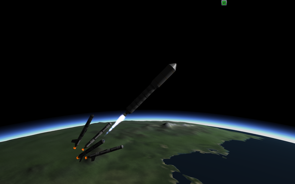 Полёт на Минмус. Kerbal Space Program, Игры, длиннопост