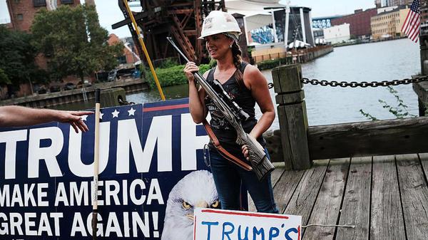 Вооружённый митинг в Кливленде Кливленд, Оружие, Право на оружие, Закон, Длиннопост