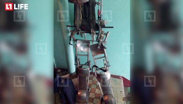 Экс-боец СОБРа создал экзоскелет для борьбы с коллекторами Коллекторы, Экзоскелет, Оружие, Новости, Пушкино