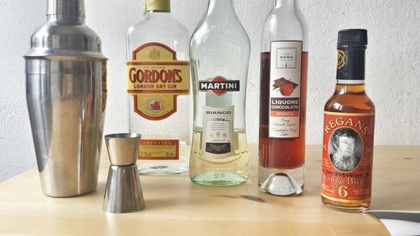 Алкоголики не пьют коктейли Утро, Коктейль, Алкоголь, Джин, Мартини, Ликер, Длиннопост