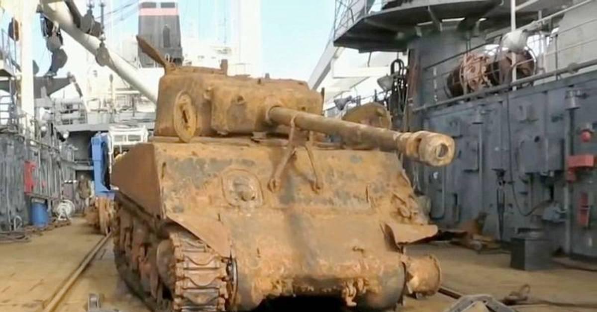 Подъем танка вов под благовещенск.