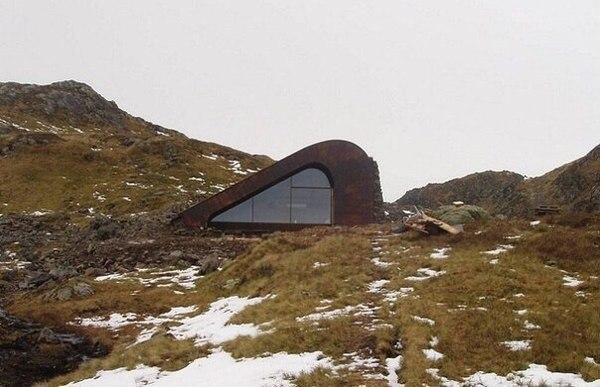 Современная хижина в Норвегии Хижина, Норвегия, Уют, Дом, Природа, World of building, Сооружения, Архитектура, Длиннопост