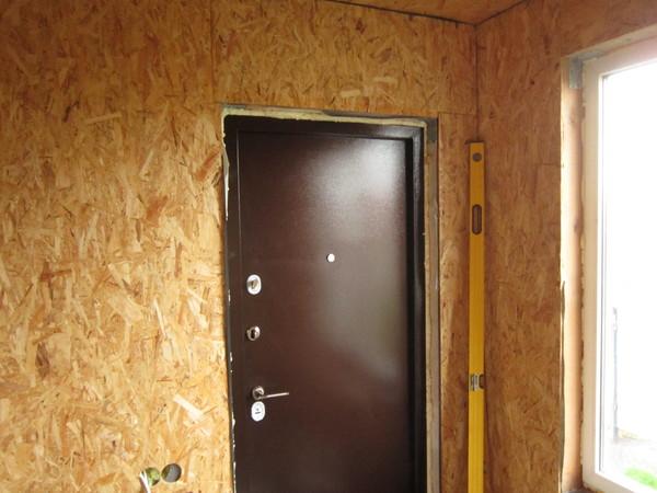 тамбур к входной двери
