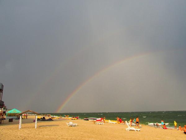 После шторма Черное море, Фотография, Первый пост