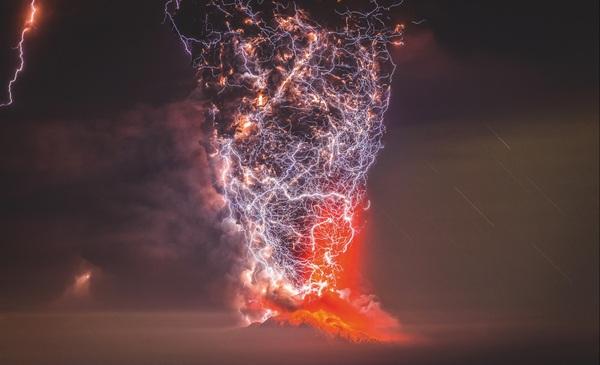 Невероятная мощь и красота стихии Молния, извержение, вулкан, Кальбуко, фотография, стихия, Francisco Negroni, Природа, длиннопост