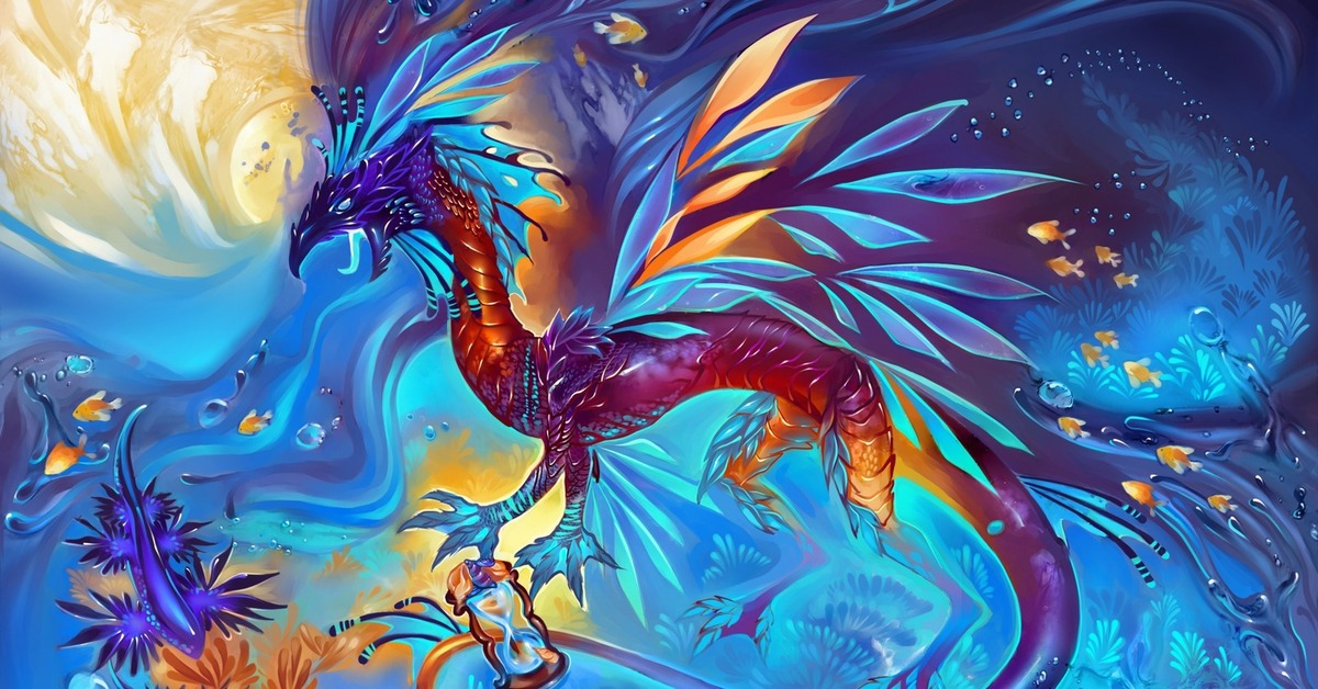 драконы сказочные волшебные картинки аватар картинки