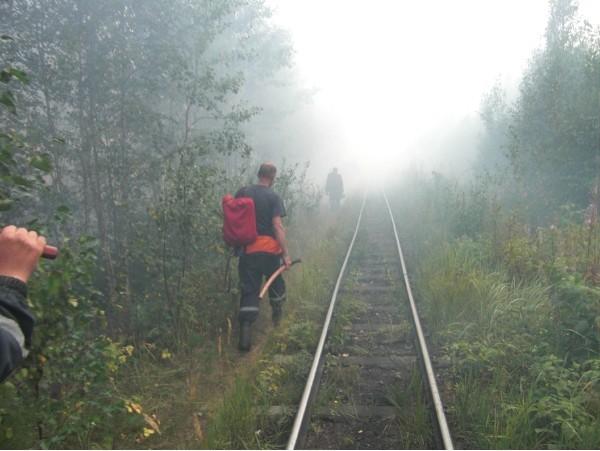 Железная дорога в аид.