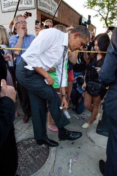 Скандальные фото политиков. 2 часть Политика, Смешное, Курьез, Обама, Неловкий момент, Длиннопост