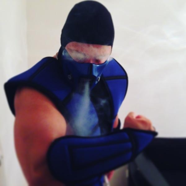 Мой косплей на Sub-zero Mortal kombat, Sub-Zero, Косплей, Berserker13, Смертельная битва, Гладиатор