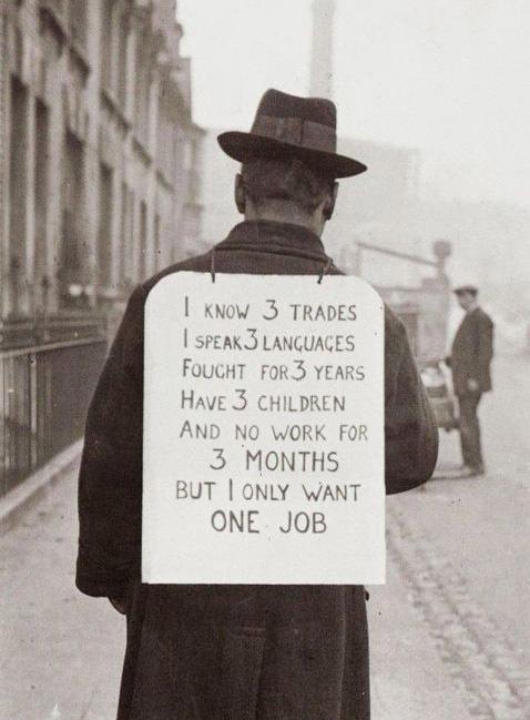 Великая депрессия Америка, Великая депрессия, Плакат