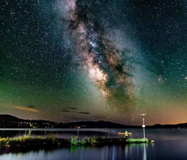 Действительно ли так выглядит ночное небо? Космос, Небо, Красота, Зрение