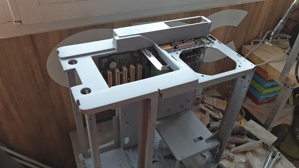 Refrigerator (на базе SilverStone FT03B) | системный блок с СЖО. Часть - II. Системный, Блок, Длиннопост, Компьютер, ПК, Моддинг