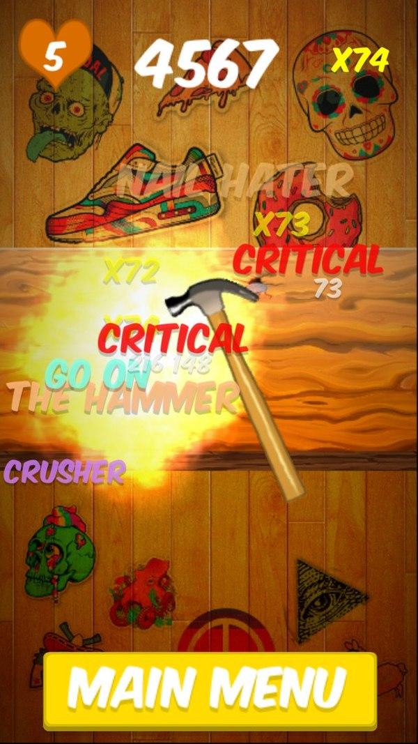 Nail Crusher: Как я мобильную игру до релиза доводил gamedev, iOS, Android, инди, разработка игр, мобильные игры, игрострой, видео, длиннопост